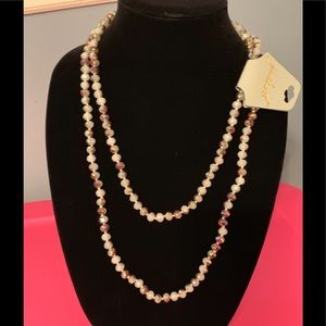 Jewelry - NWT long bead necklace